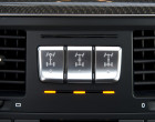 Mercedes-Benz G 500, Tasten für Sperren