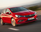 Opel Astra 2015, Fahraufnahme, Front