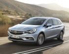 Opel Astra Sports Tourer, Fahraufnahme, Front
