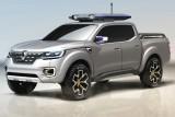 Renault will Mitte 2017 einen Eintonner-Pickup auch bei uns anbieten. Das Konzeptauto Alaskan deutet an, wie er aussehen wird.