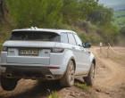 Range Rover Evoque Modell 2016 im Gelände