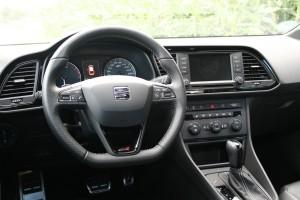Seat Leon ST Cupra 280, Cockpit