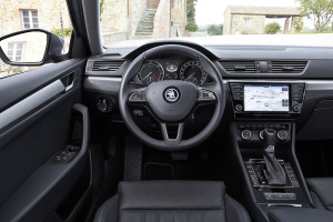 Skoda Superb 1,4 TSI, Cockpit