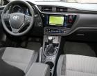 Toyota Auris Facelift 2016, Armaturenbrett