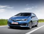 Toyota Auris Facelift 2016, Fahraufnahme von vorne