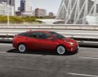 Toyota Prius 4. Generation, Fahraufnahme, Seitenansicht