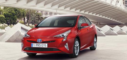 Toyota Prius 4. Generation, Standaufnahme, Frintansicht
