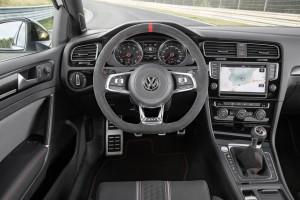 Volkswagen Golf GTI Clubsport, Cockpit