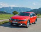 Volkswagen Passat Alltrack, Fahraufnahme