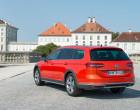 Volkswagen Passat Alltrack, Heck