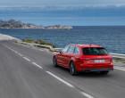 Audi A4 Avant B9, Fahraufnahme