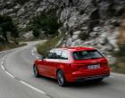 Audi A4 Avant B9, Rückansicht