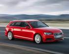 Audi A4 Avant (B9), Rot