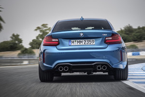 BMW M2 Coupé, Heck