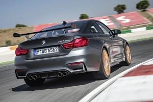 BMW M4 GTS auf der Rennstrecke
