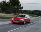 Fahraufnahme Audi A4 Avant B9