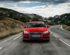 Frontansicht B9 Audi A4 Avant
