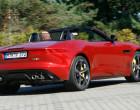 Jaguar F-Type R Cabrio AWD, Heckansicht