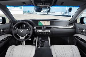 Lexus GS F, Innenraum, Armaturenbrett