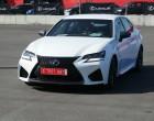 Lexus GS F, Weiss, Standaufnahme