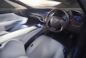 Lexus LF-FC Concept Car, Innenraum