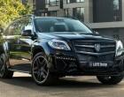 Mercedes GL nach Larte-Umbau