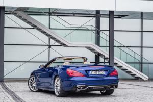 2016 Mercedes-Benz SL, Heck
