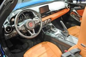 Fiat 124 Spider, Innenraum