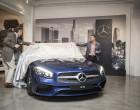 Mercedes-Benz SL bei der Vorabend-Premiere in Los Angeles