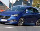 Opel Corsa OPC, Blau, Fahraufnahme