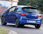 Opel Corsa OPC bei Testfahrten