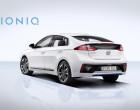 Hyundai Ioniq, Heckansicht