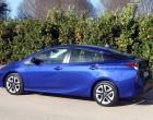 Toyota Prius vierte Generation, Seitenansicht