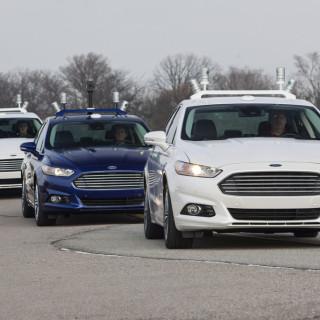 autonomes Fahren mit einem Ford
