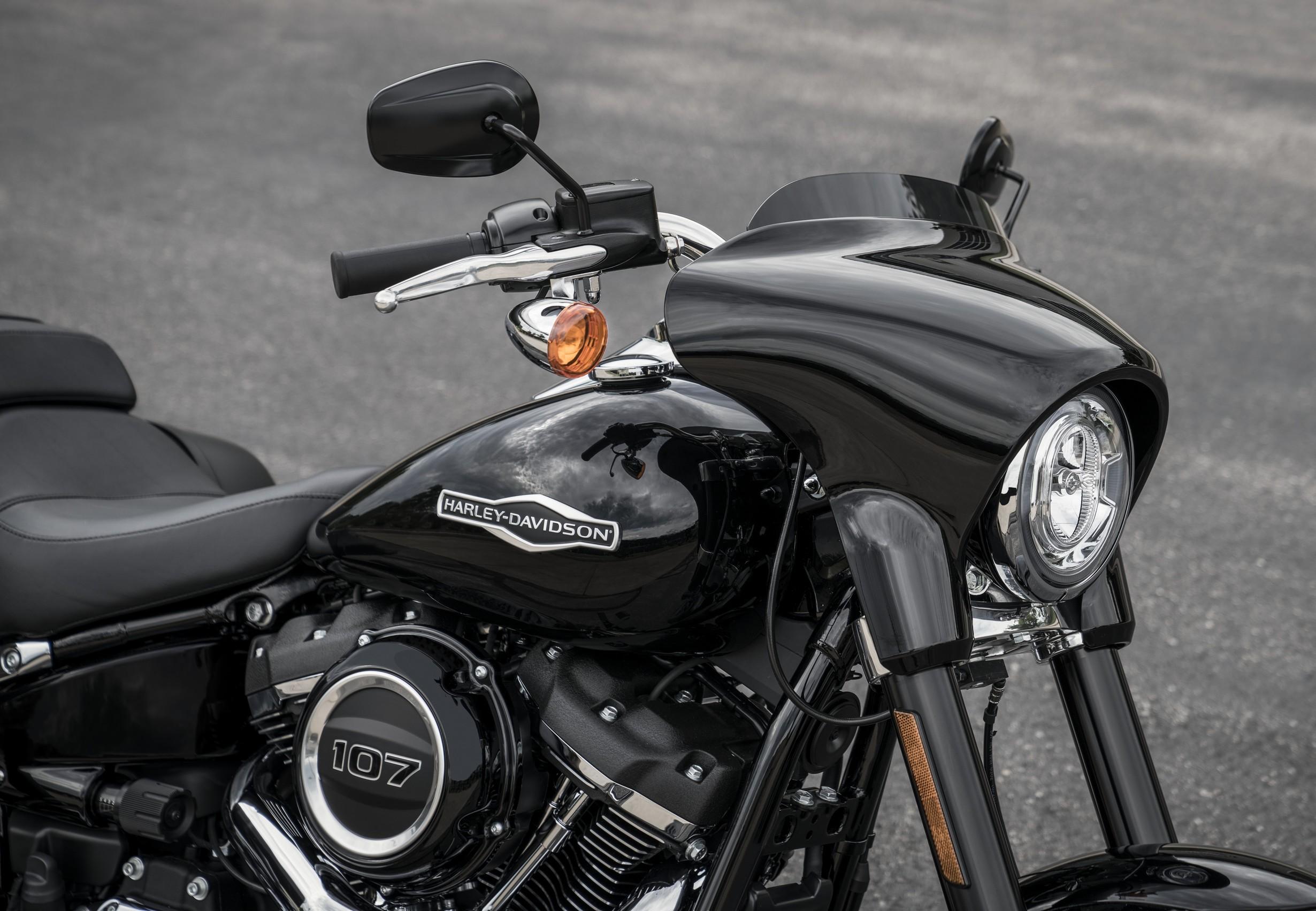 Led Headlight For Harley Davidson Softail Slim